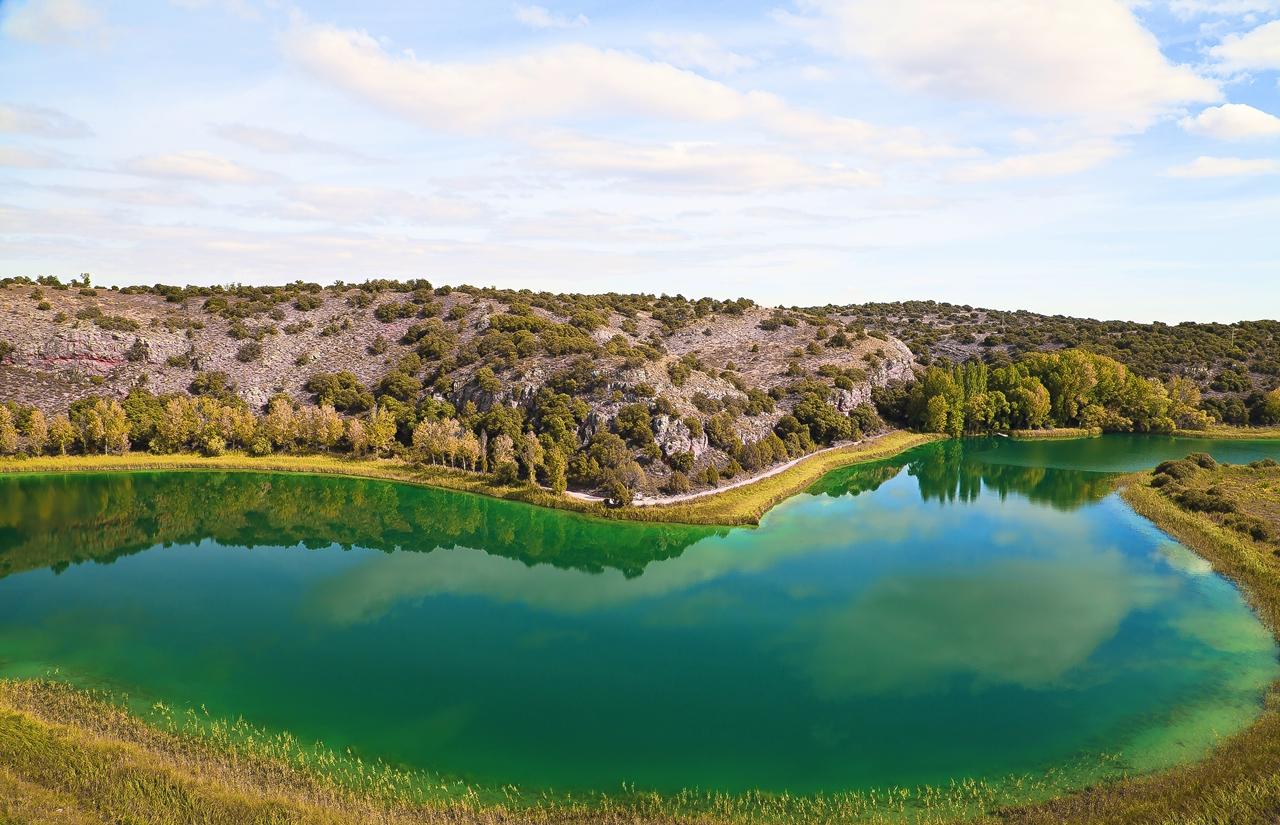 Pasando por el Parque Natural de las Lagunas de Ruidera