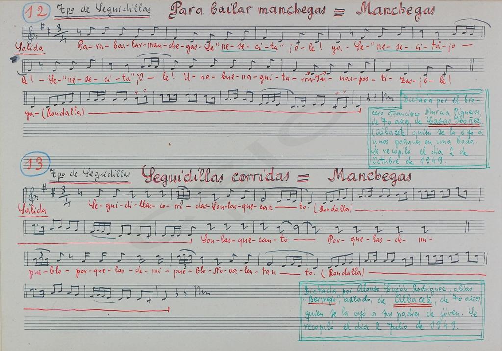 jota manchega música tradicional