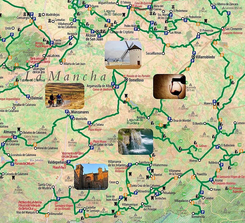 ruta del Quijote en Bicicleta Ecoturismo Cicloturismo