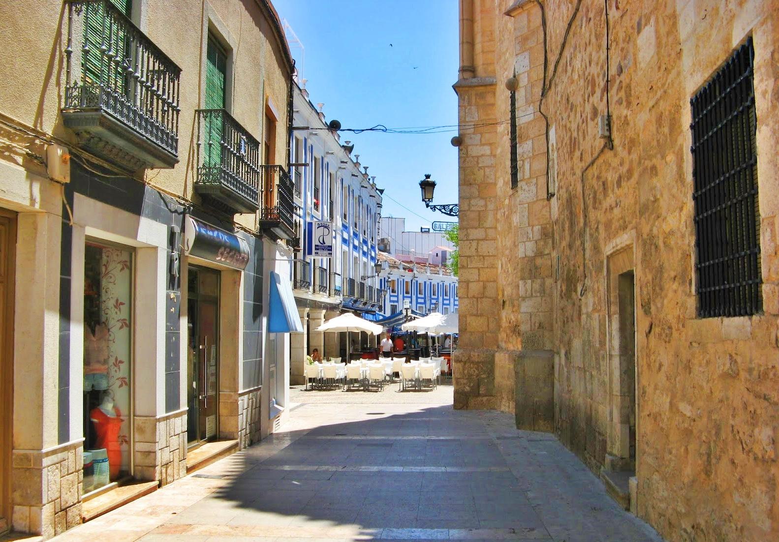 Calle Real de Valdepeñas