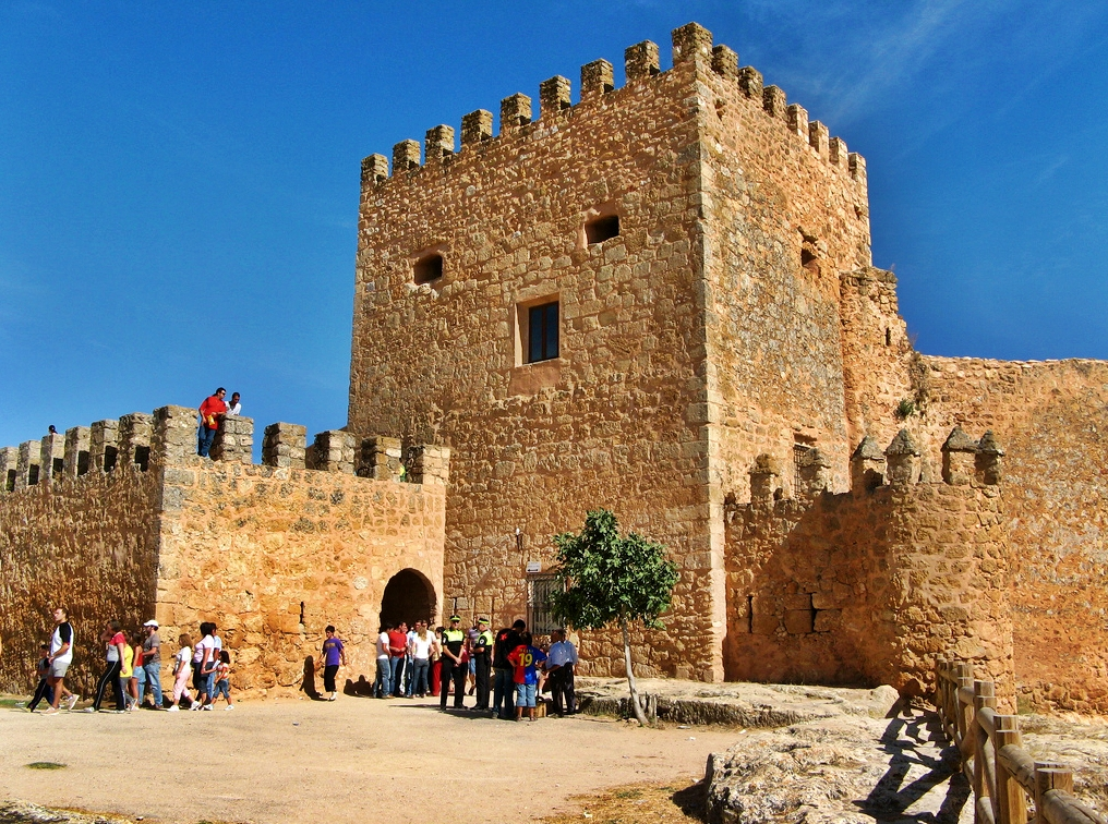 Castillo de Peñarroya. Autor, M. Peinado