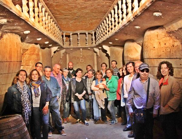 cueva bodega Tomelloso