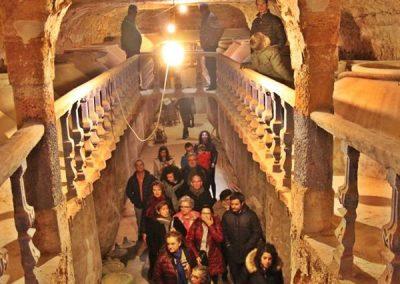 Visita guiada a las antiguas cueva – bodega de Tomelloso