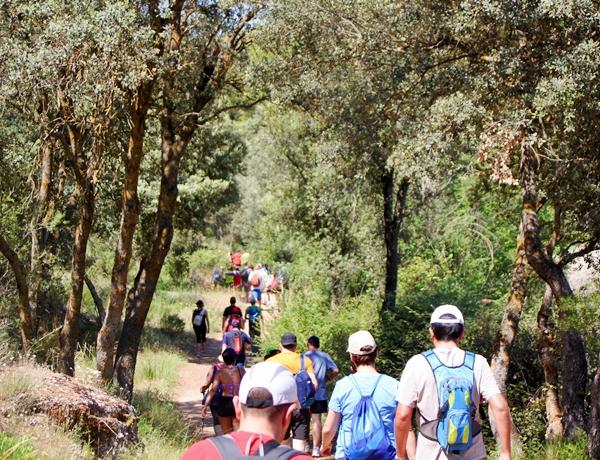 ecoturismo en Ruidera Campo de Montiel senderismo grupos