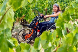 enoturismo accesible silla de ruedas Castilla La Mancha Spain wine bodega vino
