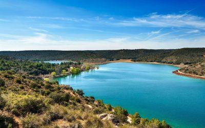 Lagunas de Ruidera, paisajes de Francisco García Pavón