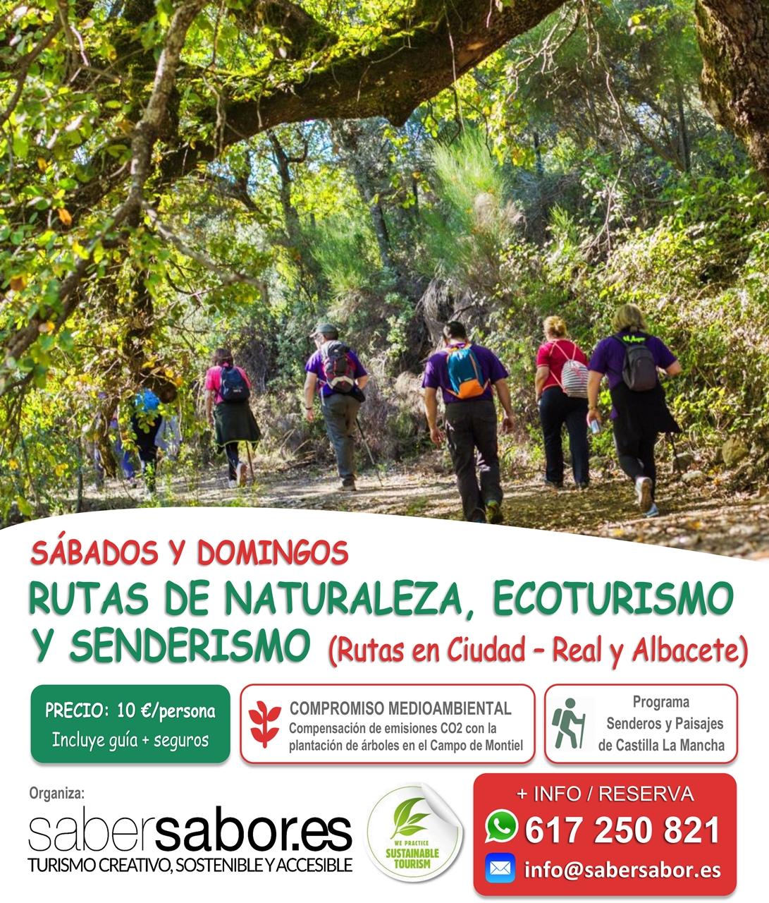 rutas naturaleza senderismo ecoturismo castilla la mancha