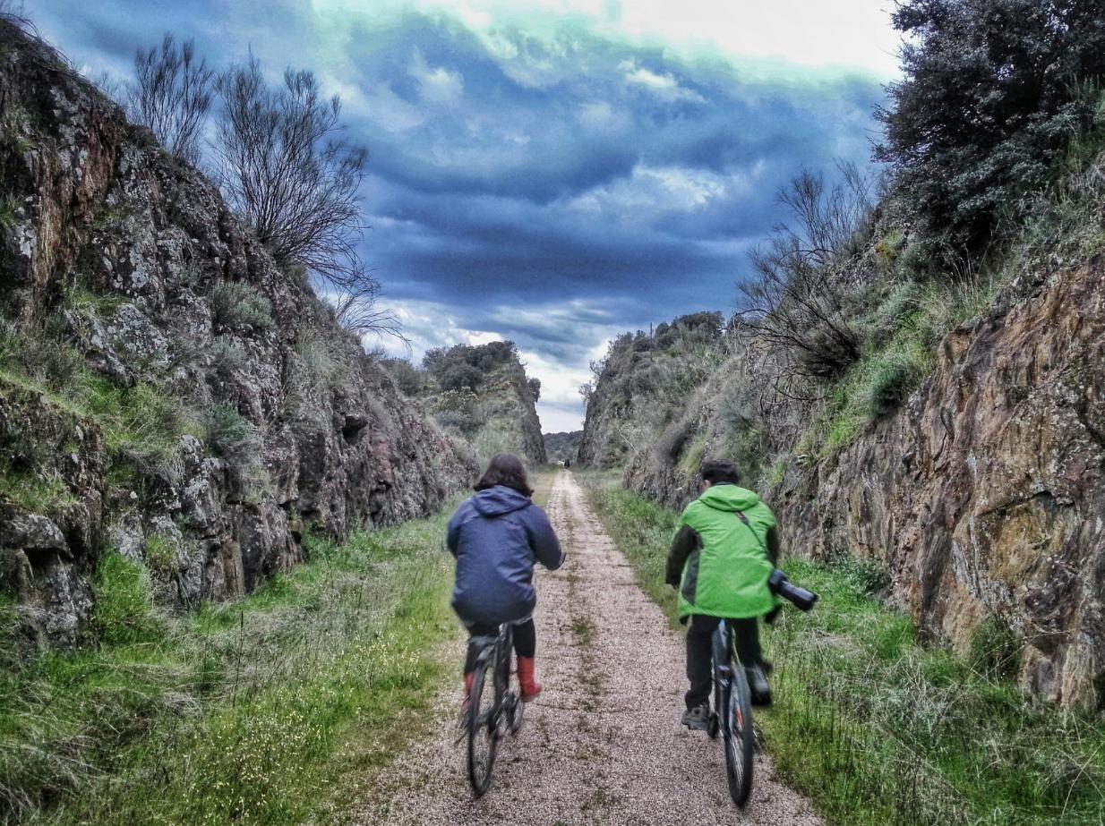 camino natural del Guadiana bicicleta