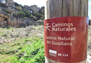 camino natural del Guadiana senderismo