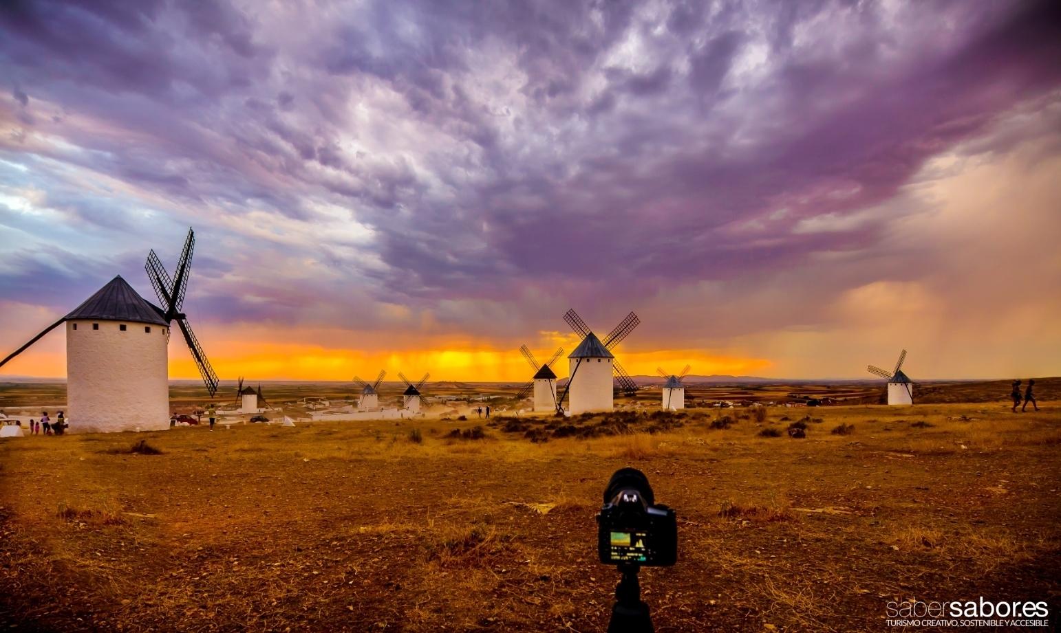 molinos viento Campo Criptana Castilla La Mancha