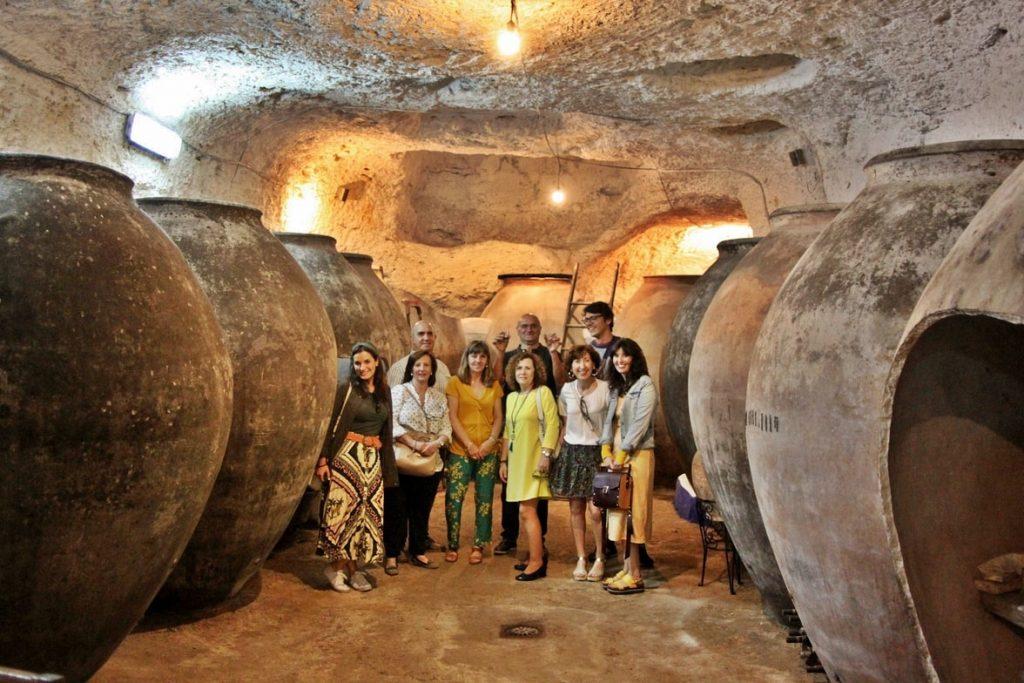 Visita guiada a cueva bodega de Tomelloso
