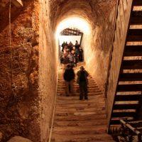 Visita turística a una cueva - bodega de Tomelloso